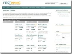 firstinning.com