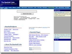 thebaseballcube.com