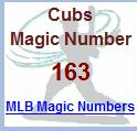 cubs magic number