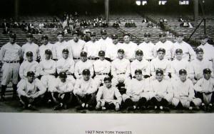 1927 Yankees Team Photo 2
